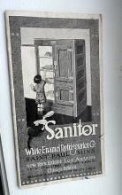 SANITOR REFRIGERATOR BOOKLET
