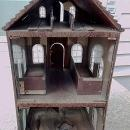 FOLK ART DOLL HOUSE