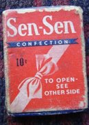 SEN-SEN CONFECTION BOX
