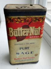 BUTTER-NUT SAGE SPICE TIN