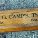 H. G. CAMPS, THE GROCER, SALEM OHIO PENCIL BOX