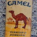 OLD CAMELS CIGARETTES BOX-SAMPLE?