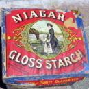 EARLY NIAGARA GLOSS STARCH BOX-GRAPHIC