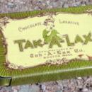 TAK-A-LAX  LAXATIVE TIN-LITTLE GIRL IMAGE