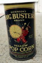 DICKINSON'S BIG BUSTER POPCORN TIN-FULL