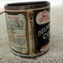 UNUSUAL SIZE G. WASHINGTON COFFEE TIN