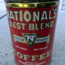 NATIONAL BEST BLEND 1 LB. COFFEE TIN