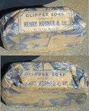HORNER'S CLIPPER SOAP BAR/SHIP IMAGE