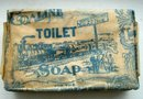 COALINE TOILET SOAP BAR-TRAIN IMAGE