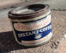 SAMPLE G. WASHINGTON COFFEE TIN