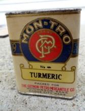 MON-TRO TURMERIC SPICE TIN