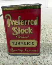 PREFERRED STOCK TURMERIC SPICE TIN