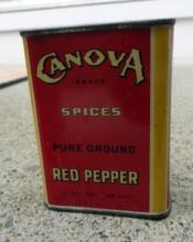 CANOVA RED PEPPER SPICE TIN