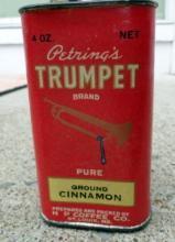 PETRING'S TRUMPET BRAND CINNAMON SPICE TIN