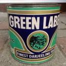 LIPTON'S GREEN LABEL DARJEELING TEA CAN