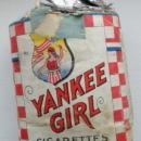 RARE ANTIQUE YANKEE GIRL CIGARETTES PACK-EMPTY