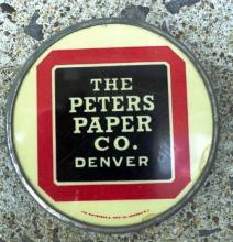 THE PETERS PAPER CO., DENVER PAPERWEIGHT