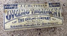 J. C. HUTZELL'S OVELMO TREATMENT TIN