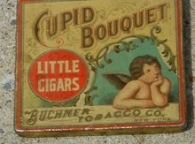 CUPID BOUQUET LITTLE CIGARS TIN