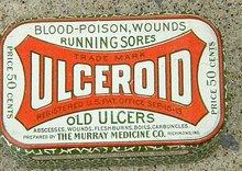 ULCEROID TIN (MEDICINAL)