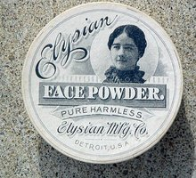 ELYSIAN FACE POWDER BOX