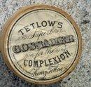 TETLOW'S COMPLEXION FACE POWDER BOX