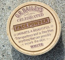 C. R. BAILEY'S CELEBRATED FACE POWDER BOX
