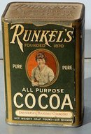 RUNKEL';S ALL PURPOSE COCOA TIN - UNOPENED