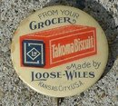LOOSE-WILES ADVERTISING CELLULOID PINBACK