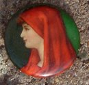 PERFECTION CIGARETTES CELLULOID PINBACK