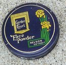 GARDEN COURT FACE POWDER TIN