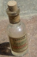 TAPPAN'S AROMIA COLOGNE BOTTLE