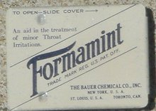FORMAMINT TIN