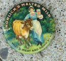 HORLICK'S MALTED MILK CELLULOID PINBACK