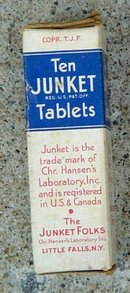 THE JUNKET TABLETS BOX/UNOPENED