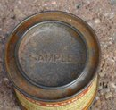 DAVIS BAKING POWDER TIN-SAMPLE