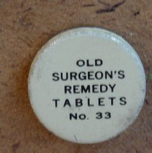 OLD SURGEON'S REMEDY TABLETS-NO. 33 TIN  (MEDICINAL
