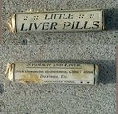 LITTLE LIVER PILLS BOTTLE-FULL; QUACK MEDICINE