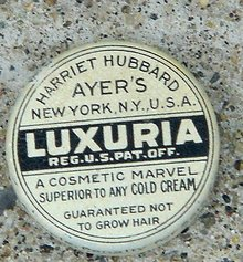 HARRIET HUBBARD AYER'S LUXURIA CLEANSING SKIN TIN-SAMPLE