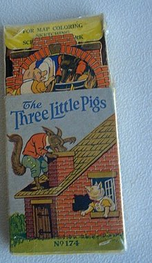 THREE LITTLE PIGS  PENCILS BOX-GRAPHIC