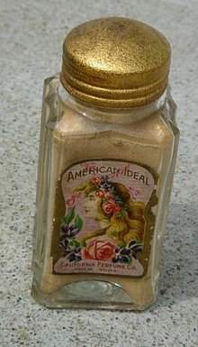 AMERICAN IDEALSACHET BOTTLE/CONTENTS-CALIFORNIA PERFUME