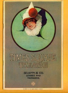 TIMES SQUARE THEATRE PROGRAM-1924