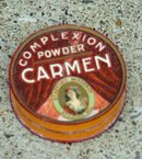 CARMEN FACE POWDER BOX-FULL;GRAPHIC