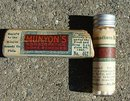 MUNYON'S HOMEOPATHIC  RHEUMATISM REMEDY BOTTLE/BOX