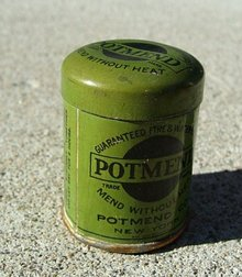 POTMEND TIN-SOME CONTENTS