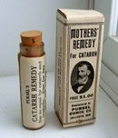 MOTHERS' REMEDY FOR CATARRH BOTTLE/BOX(MEDICINAL)