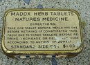 MADOX HERB TABLETS TIN