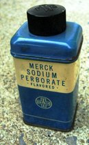 MERCK SODIUM PERBOARATE FLAVORED (TOOTH POWDER) TIN-CONTENTS