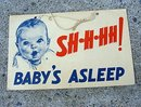 GERBER ADVERTISING SIGN -