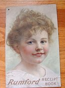 RUMFORD RECEIPT BOOK-PRETTY GIRL IMAGE
